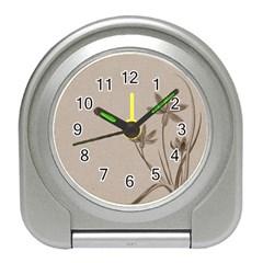 Background Vintage Drawing Sepia Travel Alarm Clocks