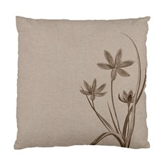 Background Vintage Drawing Sepia Standard Cushion Case (One Side)