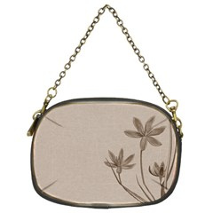 Background Vintage Drawing Sepia Chain Purses (Two Sides)