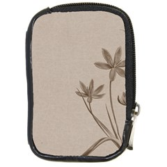 Background Vintage Drawing Sepia Compact Camera Cases