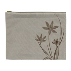 Background Vintage Drawing Sepia Cosmetic Bag (XL)