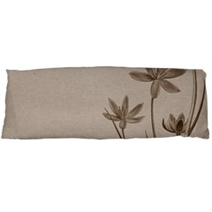 Background Vintage Drawing Sepia Body Pillow Case Dakimakura (two Sides)