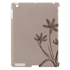 Background Vintage Drawing Sepia Apple iPad 3/4 Hardshell Case (Compatible with Smart Cover)