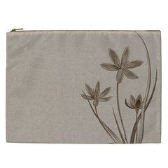 Background Vintage Drawing Sepia Cosmetic Bag (XXL)
