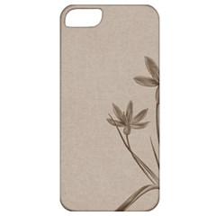Background Vintage Drawing Sepia Apple Iphone 5 Classic Hardshell Case