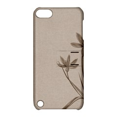 Background Vintage Drawing Sepia Apple iPod Touch 5 Hardshell Case with Stand