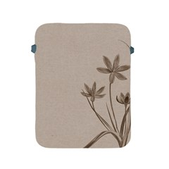 Background Vintage Drawing Sepia Apple iPad 2/3/4 Protective Soft Cases
