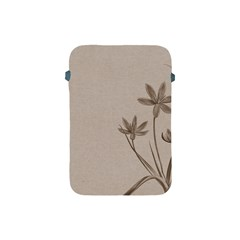Background Vintage Drawing Sepia Apple Ipad Mini Protective Soft Cases