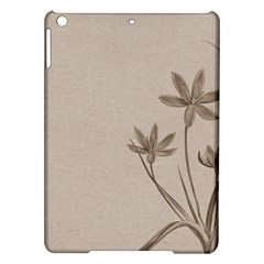 Background Vintage Drawing Sepia Ipad Air Hardshell Cases