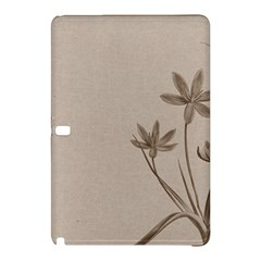 Background Vintage Drawing Sepia Samsung Galaxy Tab Pro 10 1 Hardshell Case