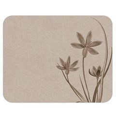 Background Vintage Drawing Sepia Double Sided Flano Blanket (Medium)