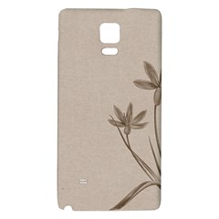 Background Vintage Drawing Sepia Galaxy Note 4 Back Case