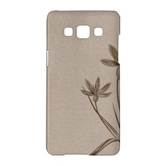 Background Vintage Drawing Sepia Samsung Galaxy A5 Hardshell Case