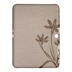 Background Vintage Drawing Sepia Samsung Galaxy Tab 4 (10 1 ) Hardshell Case