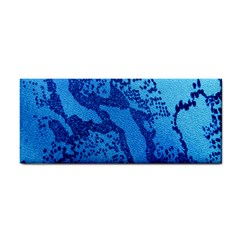 Background Tissu Fleur Bleu Cosmetic Storage Cases