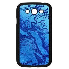 Background Tissu Fleur Bleu Samsung Galaxy Grand DUOS I9082 Case (Black)