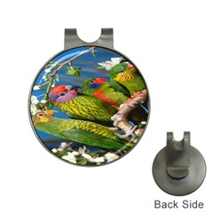 Beautifull Parrots Bird Hat Clips With Golf Markers