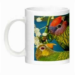 Beautifull Parrots Bird Night Luminous Mugs
