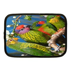 Beautifull Parrots Bird Netbook Case (Medium)