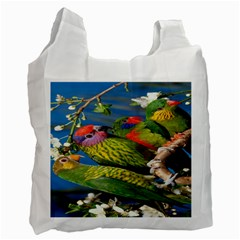 Beautifull Parrots Bird Recycle Bag (One Side)