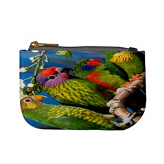 Beautifull Parrots Bird Mini Coin Purses