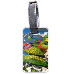 Beautifull Parrots Bird Luggage Tags (One Side)