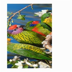 Beautifull Parrots Bird Small Garden Flag (Two Sides)