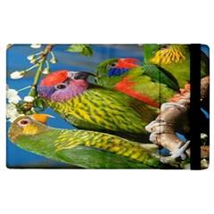 Beautifull Parrots Bird Apple Ipad 3/4 Flip Case