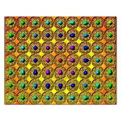 Background Tile Kaleidoscope Rectangular Jigsaw Puzzl