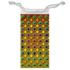 Background Tile Kaleidoscope Jewelry Bag