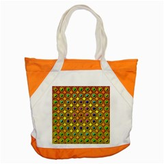 Background Tile Kaleidoscope Accent Tote Bag