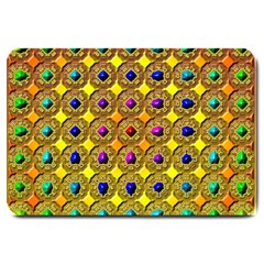 Background Tile Kaleidoscope Large Doormat