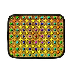 Background Tile Kaleidoscope Netbook Case (Small)