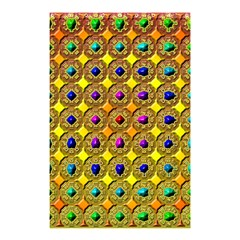 Background Tile Kaleidoscope Shower Curtain 48  x 72  (Small)