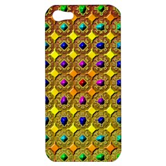 Background Tile Kaleidoscope Apple Iphone 5 Hardshell Case
