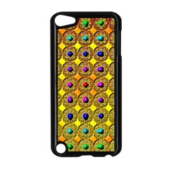 Background Tile Kaleidoscope Apple iPod Touch 5 Case (Black)