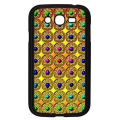 Background Tile Kaleidoscope Samsung Galaxy Grand Duos I9082 Case (black)