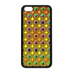 Background Tile Kaleidoscope Apple iPhone 5C Seamless Case (Black)