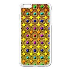 Background Tile Kaleidoscope Apple iPhone 6 Plus/6S Plus Enamel White Case