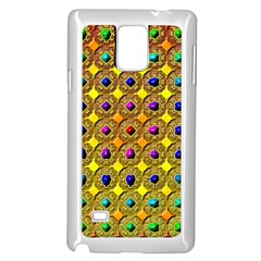 Background Tile Kaleidoscope Samsung Galaxy Note 4 Case (white)