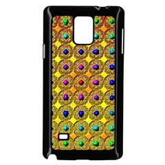 Background Tile Kaleidoscope Samsung Galaxy Note 4 Case (black)
