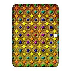 Background Tile Kaleidoscope Samsung Galaxy Tab 4 (10.1 ) Hardshell Case