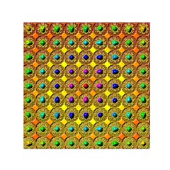 Background Tile Kaleidoscope Small Satin Scarf (square)