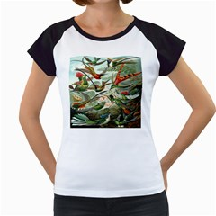 Beautiful Bird Women s Cap Sleeve T