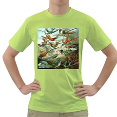 Beautiful Bird Green T-Shirt