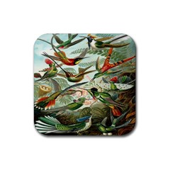 Beautiful Bird Rubber Coaster (square)