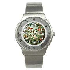 Beautiful Bird Stainless Steel Watch