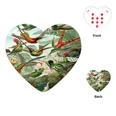 Beautiful Bird Playing Cards (heart)