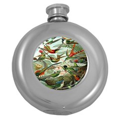 Beautiful Bird Round Hip Flask (5 Oz)