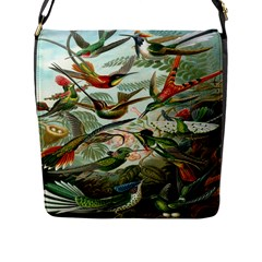 Beautiful Bird Flap Messenger Bag (L)